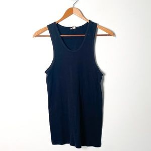 Levi's Classic Ribbed Blank Tank Top